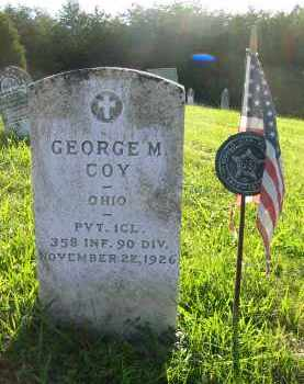 COY, GEORGE M. - Gallia County, Ohio | GEORGE M. COY - Ohio Gravestone Photos