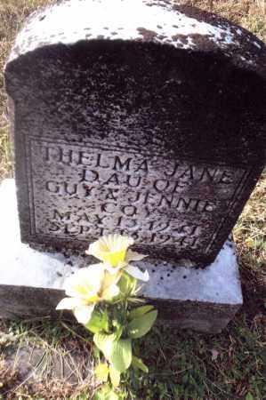 COY, THELMA JANE - Gallia County, Ohio   THELMA JANE COY - Ohio Gravestone Photos