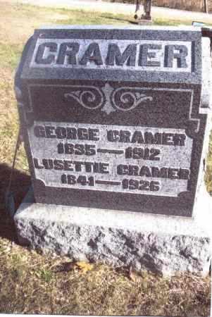 CRAMER, LUSETTIE - Gallia County, Ohio | LUSETTIE CRAMER - Ohio Gravestone Photos
