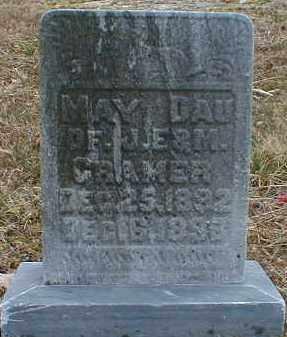 CRAMER, MAY - Gallia County, Ohio | MAY CRAMER - Ohio Gravestone Photos