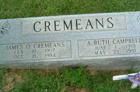 CREMEANS, A. RUTH - Gallia County, Ohio | A. RUTH CREMEANS - Ohio Gravestone Photos