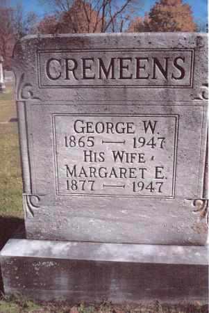 CREMEENS, MARGARET E. - Gallia County, Ohio   MARGARET E. CREMEENS - Ohio Gravestone Photos