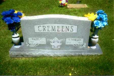 CREMEENS, HORACE DONALD - Gallia County, Ohio | HORACE DONALD CREMEENS - Ohio Gravestone Photos
