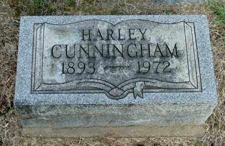 CUNNINGHAM, HARLEY - Gallia County, Ohio | HARLEY CUNNINGHAM - Ohio Gravestone Photos