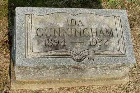 CUNNINGHAM, IDA - Gallia County, Ohio | IDA CUNNINGHAM - Ohio Gravestone Photos