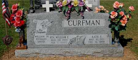 CURFMAN, WILLIAM E (REV.) - Gallia County, Ohio | WILLIAM E (REV.) CURFMAN - Ohio Gravestone Photos