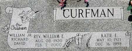 CURFMAN, WILLIAM E (CLOSE-UP) - Gallia County, Ohio | WILLIAM E (CLOSE-UP) CURFMAN - Ohio Gravestone Photos