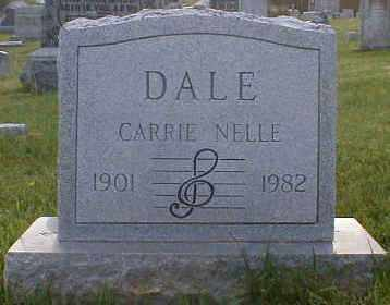 DALE, CARRIE - Gallia County, Ohio | CARRIE DALE - Ohio Gravestone Photos