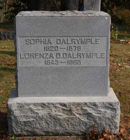 DALRYMPLE, LORENZA D - Gallia County, Ohio | LORENZA D DALRYMPLE - Ohio Gravestone Photos