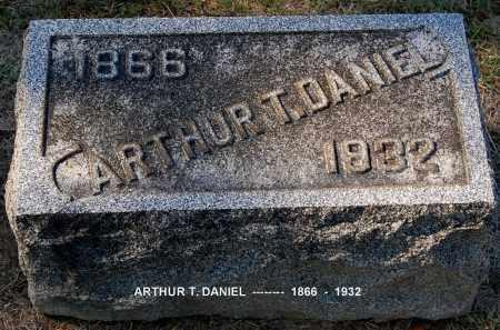 DANIEL, ARTHUR T - Gallia County, Ohio   ARTHUR T DANIEL - Ohio Gravestone Photos