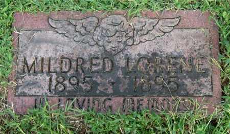 DANIEL, MILDRED LORENE - Gallia County, Ohio | MILDRED LORENE DANIEL - Ohio Gravestone Photos