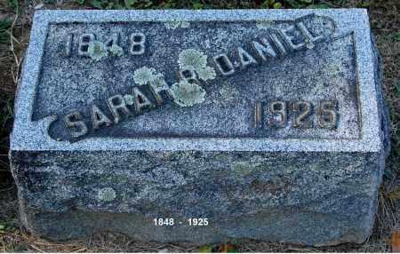 DANIEL, SARAH R - Gallia County, Ohio   SARAH R DANIEL - Ohio Gravestone Photos