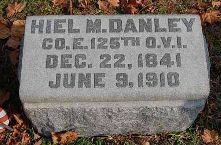 DANLEY, HIEL M - Gallia County, Ohio | HIEL M DANLEY - Ohio Gravestone Photos