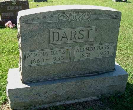 DARST, ALONZO SAUNDERS - Gallia County, Ohio   ALONZO SAUNDERS DARST - Ohio Gravestone Photos