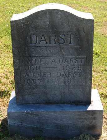 DARST, CARRIE A - Gallia County, Ohio   CARRIE A DARST - Ohio Gravestone Photos