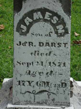 DARST (CLOSE VIEW), JAMES NELSON - Gallia County, Ohio | JAMES NELSON DARST (CLOSE VIEW) - Ohio Gravestone Photos
