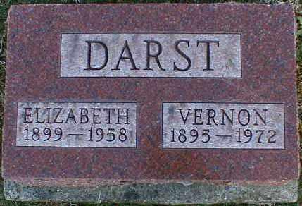 DARST, ELIZABETH - Gallia County, Ohio   ELIZABETH DARST - Ohio Gravestone Photos