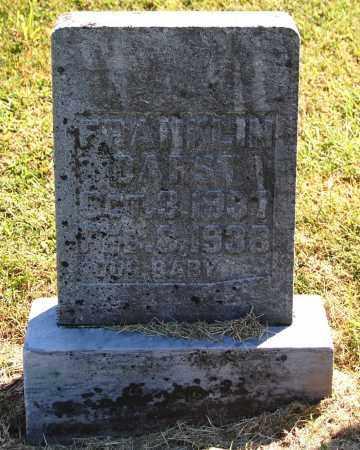 DARST, FRANKLIN - Gallia County, Ohio   FRANKLIN DARST - Ohio Gravestone Photos