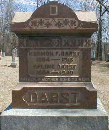 WARNER DARST, APLINE - Gallia County, Ohio | APLINE WARNER DARST - Ohio Gravestone Photos