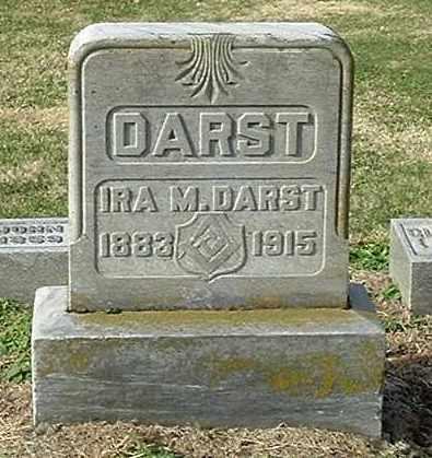 DARST, IRA M - Gallia County, Ohio | IRA M DARST - Ohio Gravestone Photos