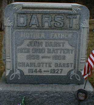 ROUSH DARST, CHARLOTTE - Gallia County, Ohio | CHARLOTTE ROUSH DARST - Ohio Gravestone Photos