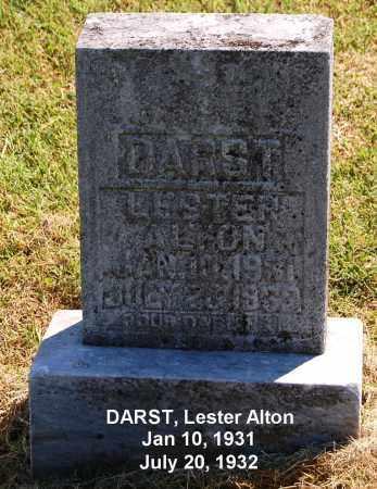 DARST, LESTER ALTON - Gallia County, Ohio   LESTER ALTON DARST - Ohio Gravestone Photos