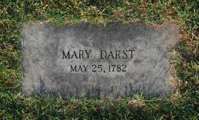 DARST, MARY - Gallia County, Ohio | MARY DARST - Ohio Gravestone Photos