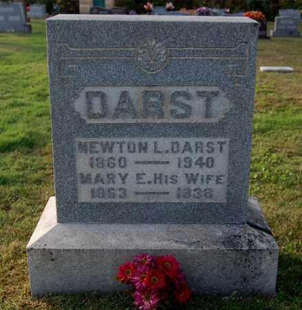 DARST, MARY E - Gallia County, Ohio | MARY E DARST - Ohio Gravestone Photos