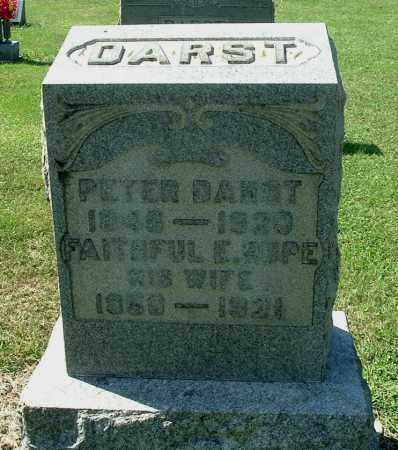 DARST, PETER - Gallia County, Ohio | PETER DARST - Ohio Gravestone Photos