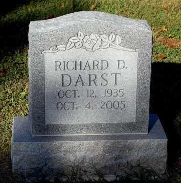 DARST, RICHARD D. - Gallia County, Ohio | RICHARD D. DARST - Ohio Gravestone Photos