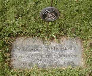 DAUGHERTY, WILLLIAM - Gallia County, Ohio | WILLLIAM DAUGHERTY - Ohio Gravestone Photos