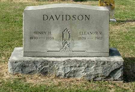 DAVIDSON, HENRY H - Gallia County, Ohio | HENRY H DAVIDSON - Ohio Gravestone Photos