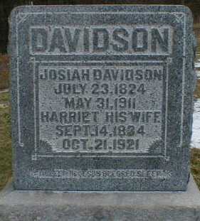 DAVIDSON, HARRIET - Gallia County, Ohio | HARRIET DAVIDSON - Ohio Gravestone Photos