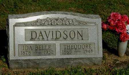 DAVIDSON, THEODORE - Gallia County, Ohio   THEODORE DAVIDSON - Ohio Gravestone Photos