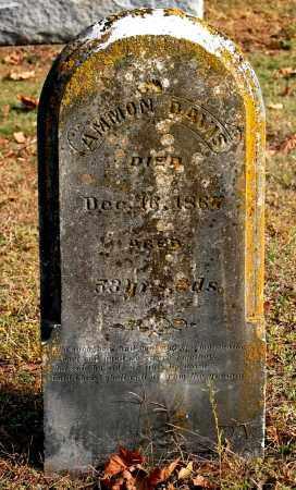 DAVIS, AMMON - Gallia County, Ohio | AMMON DAVIS - Ohio Gravestone Photos