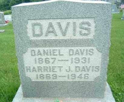 DAVIS, HARRIET J. - Gallia County, Ohio | HARRIET J. DAVIS - Ohio Gravestone Photos
