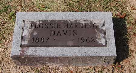 DAVIS, FLOSSIE HARDING - Gallia County, Ohio | FLOSSIE HARDING DAVIS - Ohio Gravestone Photos