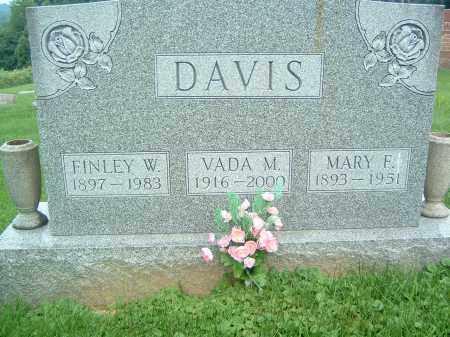 DAVIS, VADA M. - Gallia County, Ohio | VADA M. DAVIS - Ohio Gravestone Photos