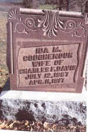 COUGHENOUR DAVIS, IDA M. - Gallia County, Ohio | IDA M. COUGHENOUR DAVIS - Ohio Gravestone Photos