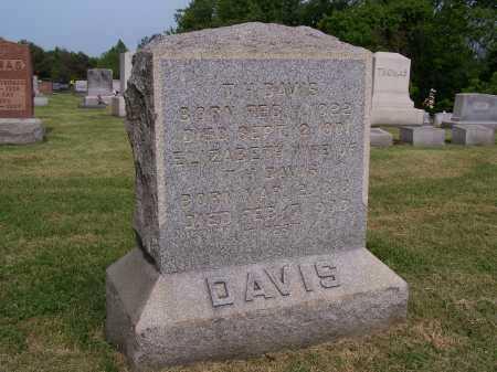 DAVIS, T H (THOMAS) - Gallia County, Ohio | T H (THOMAS) DAVIS - Ohio Gravestone Photos