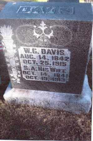 WARD DAVIS, SARAH ANN - Gallia County, Ohio | SARAH ANN WARD DAVIS - Ohio Gravestone Photos