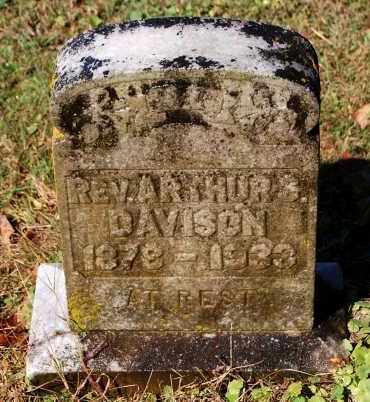 DAVISON, ARTHUR S (REV) - Gallia County, Ohio | ARTHUR S (REV) DAVISON - Ohio Gravestone Photos