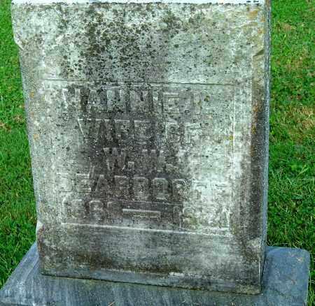 DEARDORFF, NANNIE - Gallia County, Ohio | NANNIE DEARDORFF - Ohio Gravestone Photos