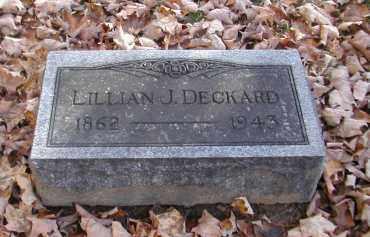 DECKARD, LILLILAN - Gallia County, Ohio   LILLILAN DECKARD - Ohio Gravestone Photos