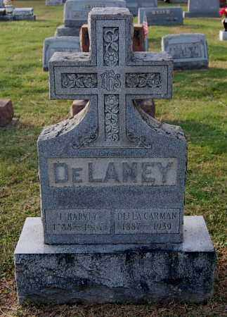 CARMAN DELANEY, DELLA - Gallia County, Ohio | DELLA CARMAN DELANEY - Ohio Gravestone Photos