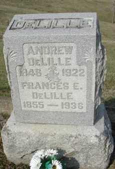 DELILLE, FRANCES E. - Gallia County, Ohio | FRANCES E. DELILLE - Ohio Gravestone Photos