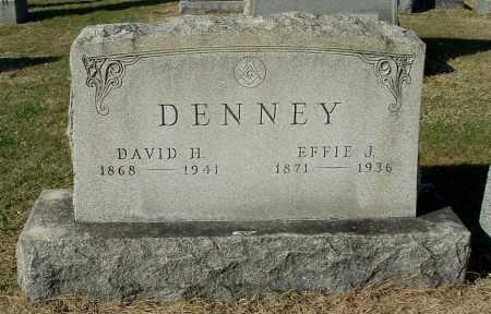 DENNEY, EFFIE J - Gallia County, Ohio | EFFIE J DENNEY - Ohio Gravestone Photos