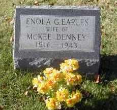 DENNEY, ENOLA - Gallia County, Ohio | ENOLA DENNEY - Ohio Gravestone Photos