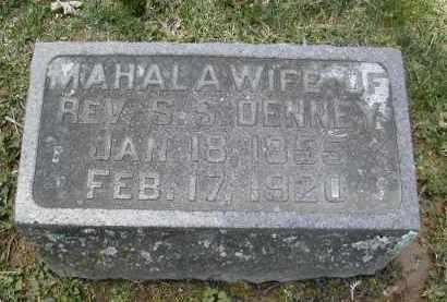 DENNEY, MAHALA - Gallia County, Ohio   MAHALA DENNEY - Ohio Gravestone Photos