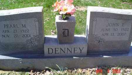 DENNEY, JOHN E. - Gallia County, Ohio | JOHN E. DENNEY - Ohio Gravestone Photos